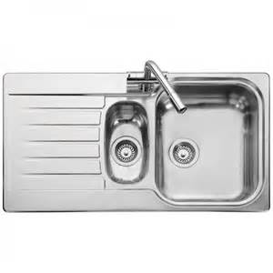 kitchen sinks seattle leisure sinks seattle 1 5 bowl and drainer 950mm x 508mm