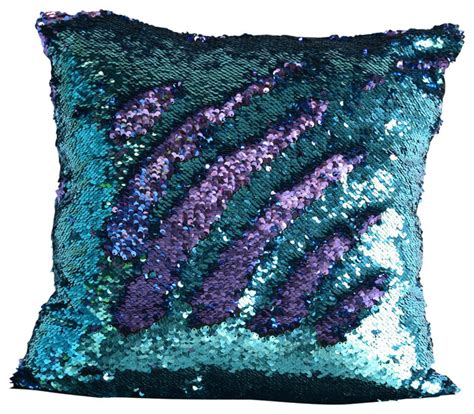 Walmart Dining Room Tables And Chairs by Aqua Amp Purple Sequin Mermaid Pillow Contemporary
