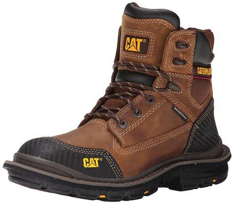 mens caterpillar work boots caterpillar s fabricate 6 quot tough p74051 waterproof