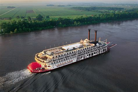 boat america american queen steamboat rollin on the river mississippi