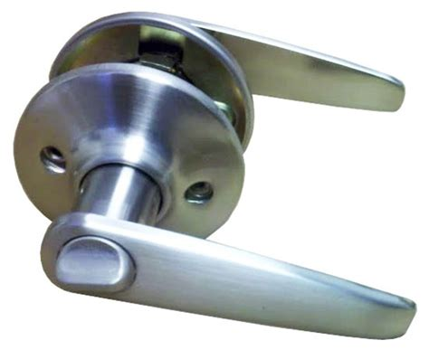 Door Knob Lock by Satin Nickel Lever Privacy Door Knob For Mobile Home Manufactured Housing