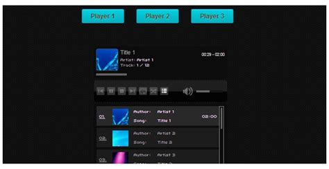 Html5 Player Template by Get A Mini Web Bundle Worth 100 For Free Inkydeals