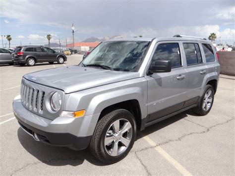 Jeep Patriot High Altitude 2017 Jeep Patriot High Altitude For Sale Stock J7010