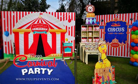 Carni L Circus Themed  Ee  Birthday Ee   Partyner In Pakistan