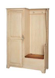 entryway armoire primitive settle bench entryway storage hall armoire farmhouse country coat rack ebay