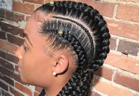 Braided Hairstyles For Black 3 5 by 35 Best Braided Hairstyles For Black Or