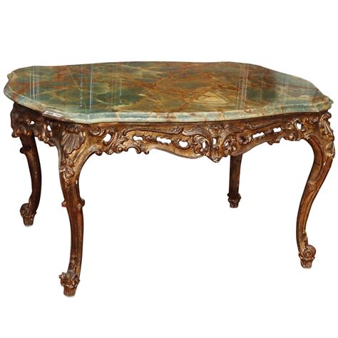 Italian Coffee Tables 19th Century Italian Marble Coffee Table At 1stdibs