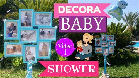Decorar Baby Shower by Ideas Para Decorar Baby Shower Marco De Fotos Paso A