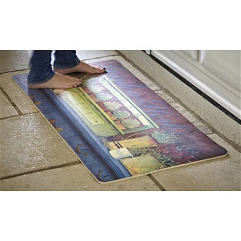Cushioned Kitchen Mat by Cushioned Kitchen Mat In Floor Mats And Runners At Lakeland