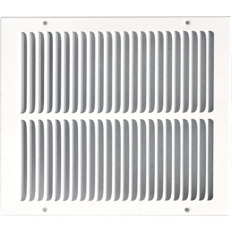 Diskon Rag Return Grill speedi grille 12 in x 14 in return air vent grille white with fixed blades sg 1214 rag the