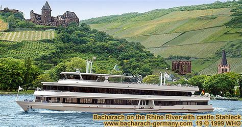 boat tour rhine river rhine river day boat cruise bacharach germany tours banks