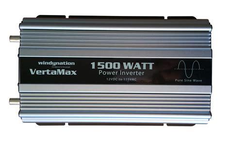 Power Inverter Suoer 1500 Watt vertamax 1500 watt 12 volt sine wave power inverter dc to ac w lcd display