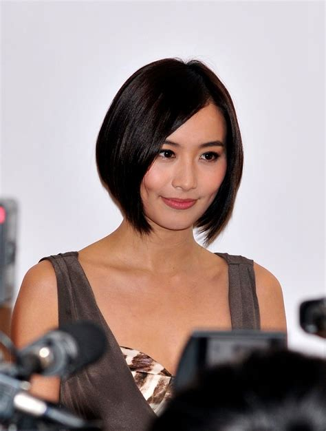hong kong actress short hair picture news word daily fawning upon the senior management staff