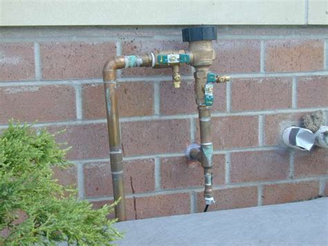 Sprinkler System Plumbing by Pressure Regulator For Sprinkler