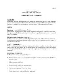 Sample Resume For Lawn Care Worker Utility Service Worker Resume