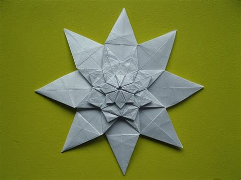 Origami Shuriken 8 Point - origami shuriken 8 point easy paper craft for