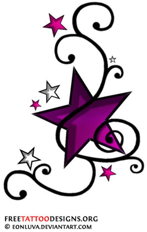 tattoo star designs with writing in it tattoos shooting and nautical designs