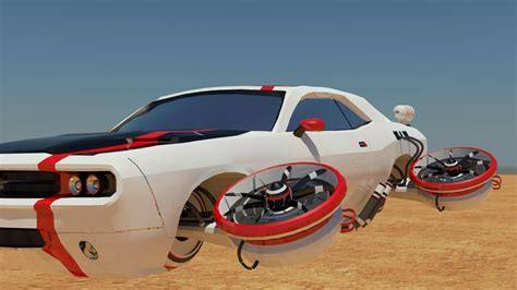 futuristic flying cars aiden mockridge ba game art completed future flying car