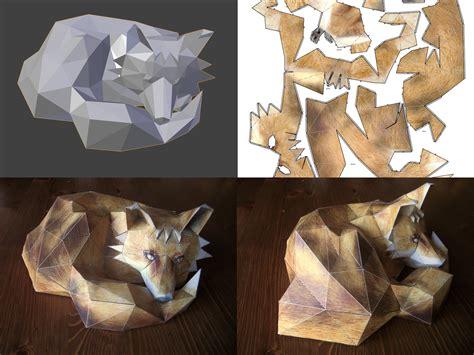 Blender Papercraft - 3d gt 2d 2d gt 3d wikimal