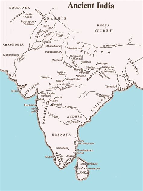 ancient india map ancient india map