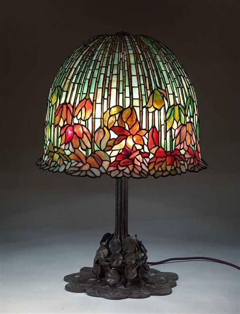 Lamp Design 18 quot flowering lotus lamp 344 amp bronze tiffany lamp base 344