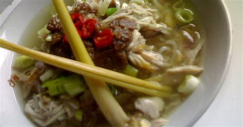 resep membuat soto ayam tegal resep soto tauco khas tegal oleh eva budiharsih cookpad