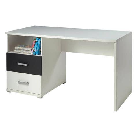 bureau gris blanc bureau enfant quot josh quot blanc gris