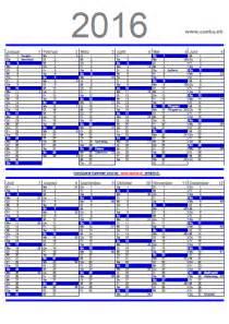 Wochenplan Kalender 2016 Kalender Zum Ausdrucken 2016 2017 2018 Pdf Gratis