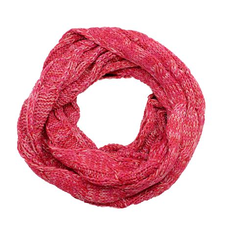 Infinity Pink charming cable knit infinity pink best of everything