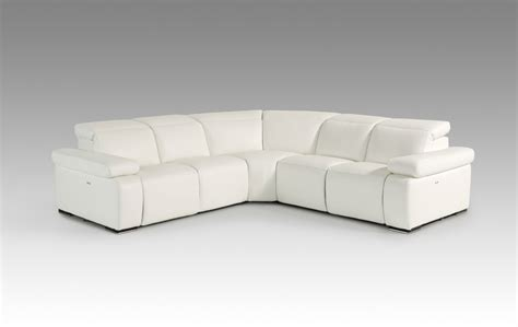 white italian leather sectional sofa estro salotti hyding modern white italian leather