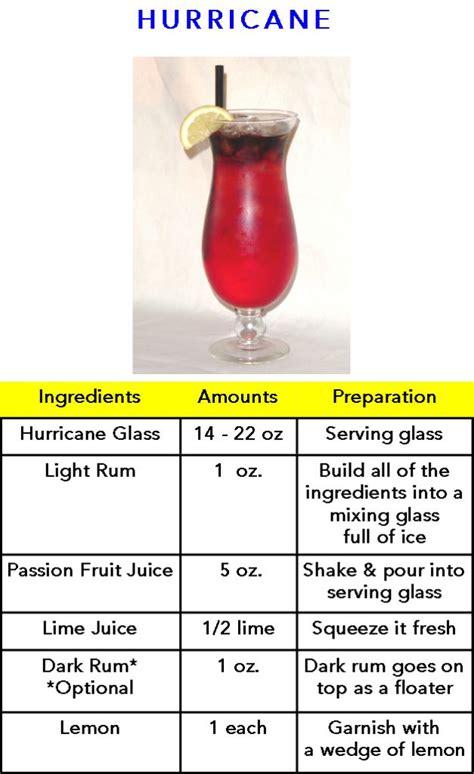 hurricane drinks pinterest