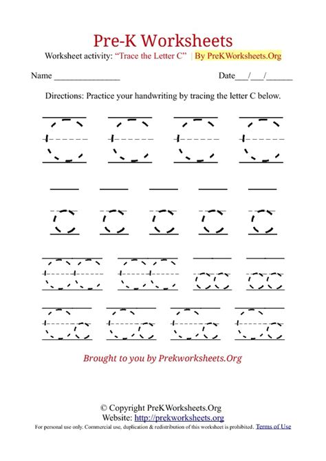 pre k worksheets letter c printable letter c tracing letters tracing sheets new calendar template site