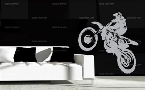 stickers muraux chambre ado stickers moto