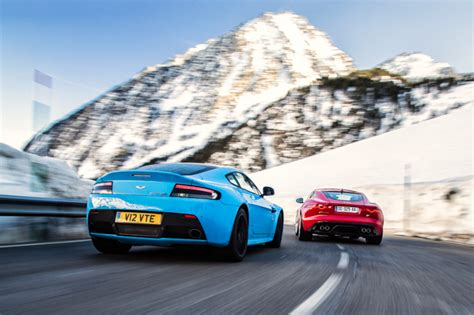 jaguar f type coupe r vs aston martin v12 vantage s