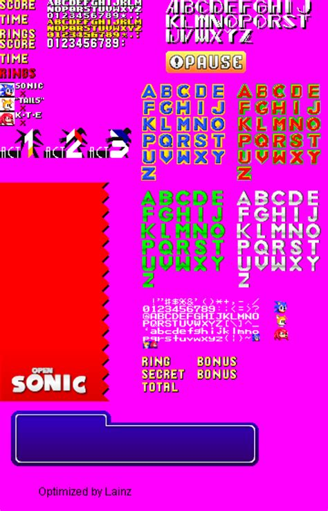 dafont zone image gallery sonic font