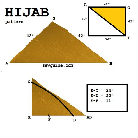 hijab cutting pattern 5 types of hijab sewing tutorials to make them yourself