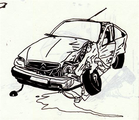 coloring page of car crash free coloring pages of car crashes