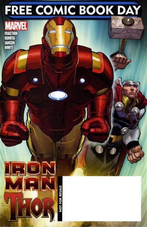 comic book day vol iron man thor marvel