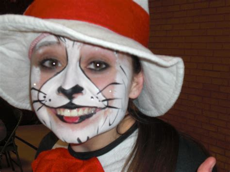 paint like cat in the hat best cat in the hat makeup for you wink and a smile