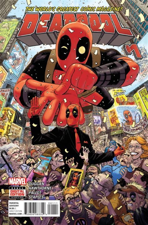 deadpool covers unvincible deadpool 1