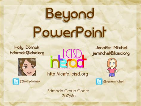 edmodo lcisd tcea 2011 beyond powerpoint 171 interact cafe
