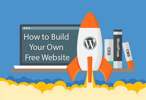 Design Your Own With No Coding Knowledge by How To Build Your Own Best Free Website Best Free