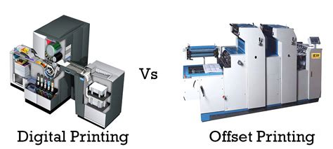 Printer Offset Digital digital printing vs offset printing sai creatives