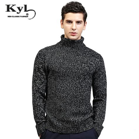 High Neck Sweter N 2017 new arrived winter sweaters high neck knitted basic knitwear homme pull pullovers