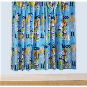 boys ready made curtains childrens kids boys toy story 3 ready made bedroom curtain