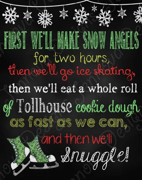 snow angels google search christmas  quotes elf  quotes elf