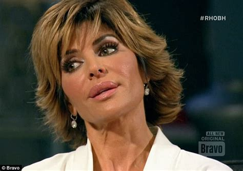 lisa rinna too thin real housewives brandi glanville turns on andy cohen