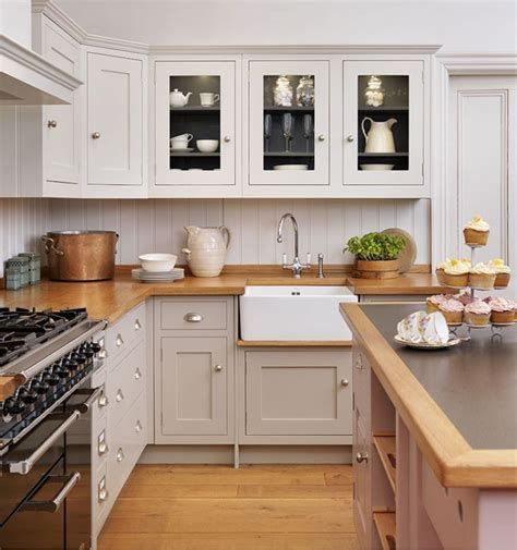shaker kitchens designs i like this but i think the colors are too close bottom