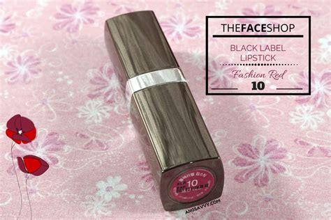 Shop Black Lipstick the shop black label lipstick 10 review ang savvy