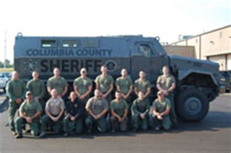 columbia county emergency response teams